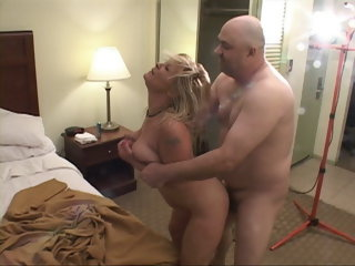 Trailer Trash Big Mamma Blonde Mommy Got Substructure Fucked